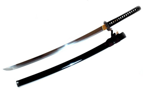 Fully polished sunflower katana
