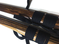 Walnut saya (scabbard) - high quality sword from Martialartswords.com