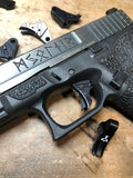 SSVI Tyr Trigger for Glocks - BLACK METAL