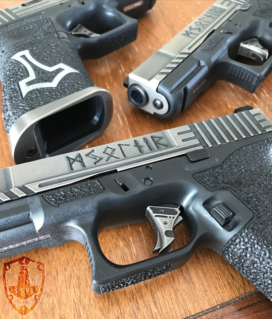 Limited Edition NiB plated Tyr Triggers - MORE COMING SOON