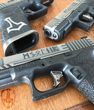 Limited Edition NiB plated Tyr Triggers - IN STOCK NOW!