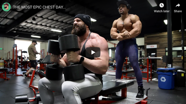 No Fancy Stuff... Just Pure, Heavy Weights On Chest Day