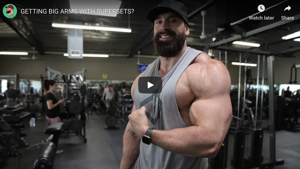 Grow Your Arms Bigger With Supersets!