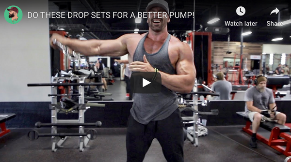 Do These Drop Sets For Better Muscle Pumps