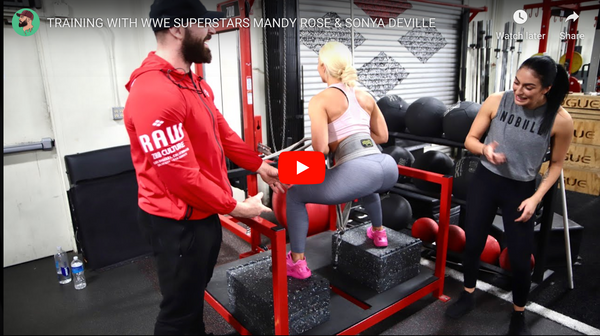 Training with WWE Superstars Mandy Rose & Sonya Deville