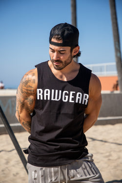 Rawgear Raw Edge Muscle Tank BM308 - Black