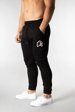 RAWGEAR Chenille Patch Sweatpants - BM220 - Black