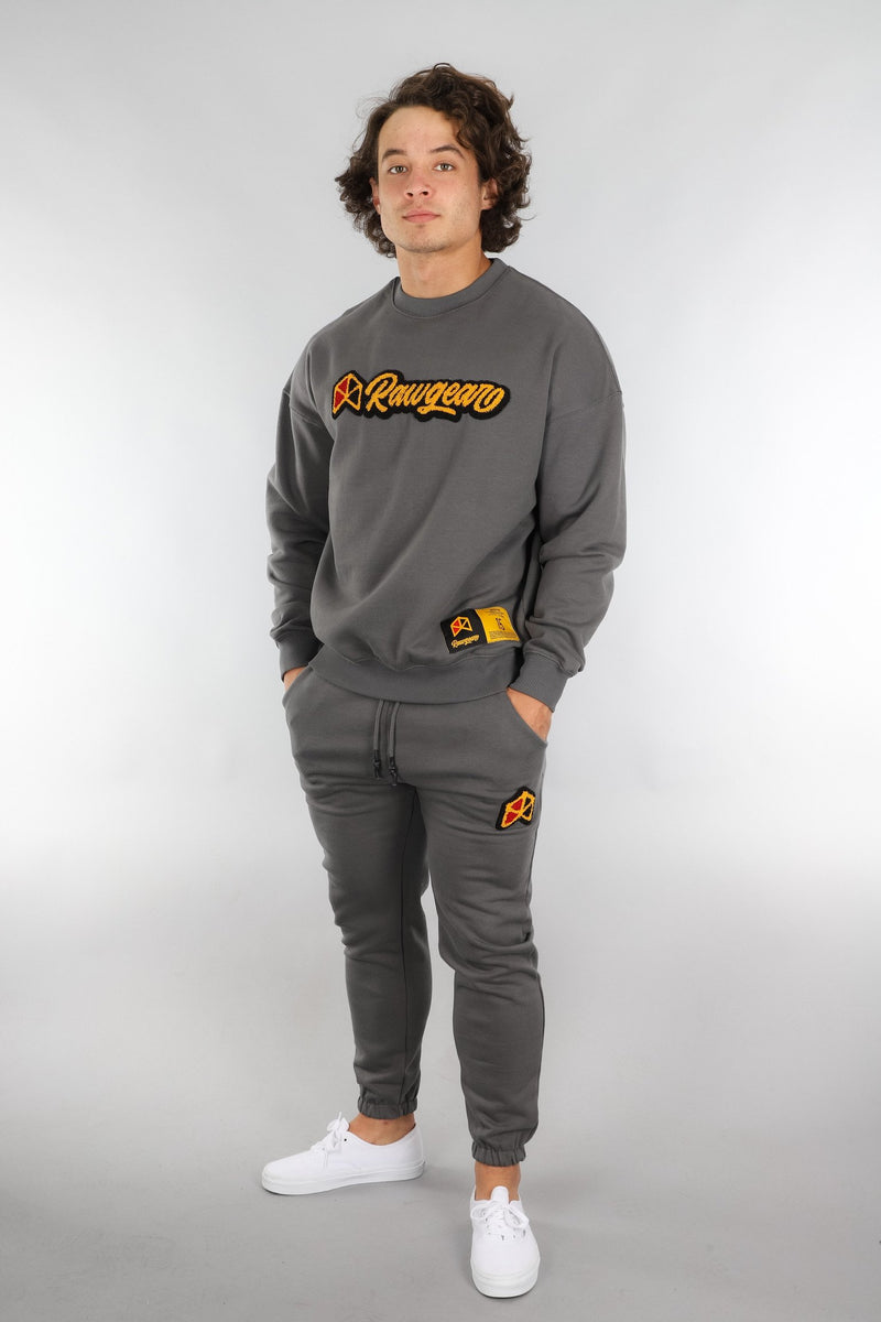 RAWGEAR Chenille Patch Sweatpants - BM220