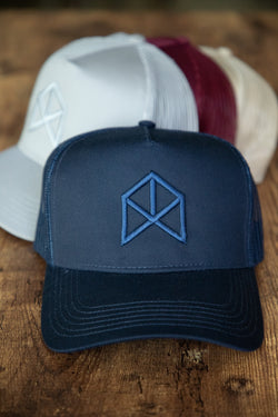 RAWGEAR Original Trucker Hat- Navy