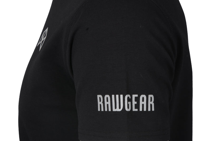 RAWGEAR Elite T-Shirt- BM417- Black