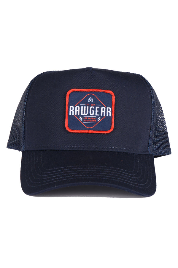 RAWGEAR Trucker Hat- Navy