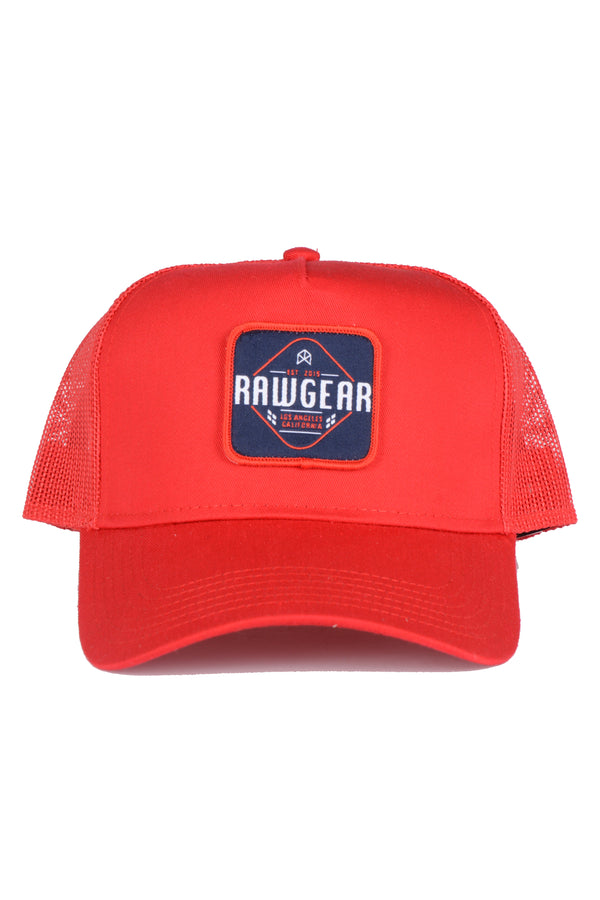 RAWGEAR Trucker Hat- Red