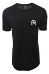 BMFIT Elongated Basic Tees - BLACK