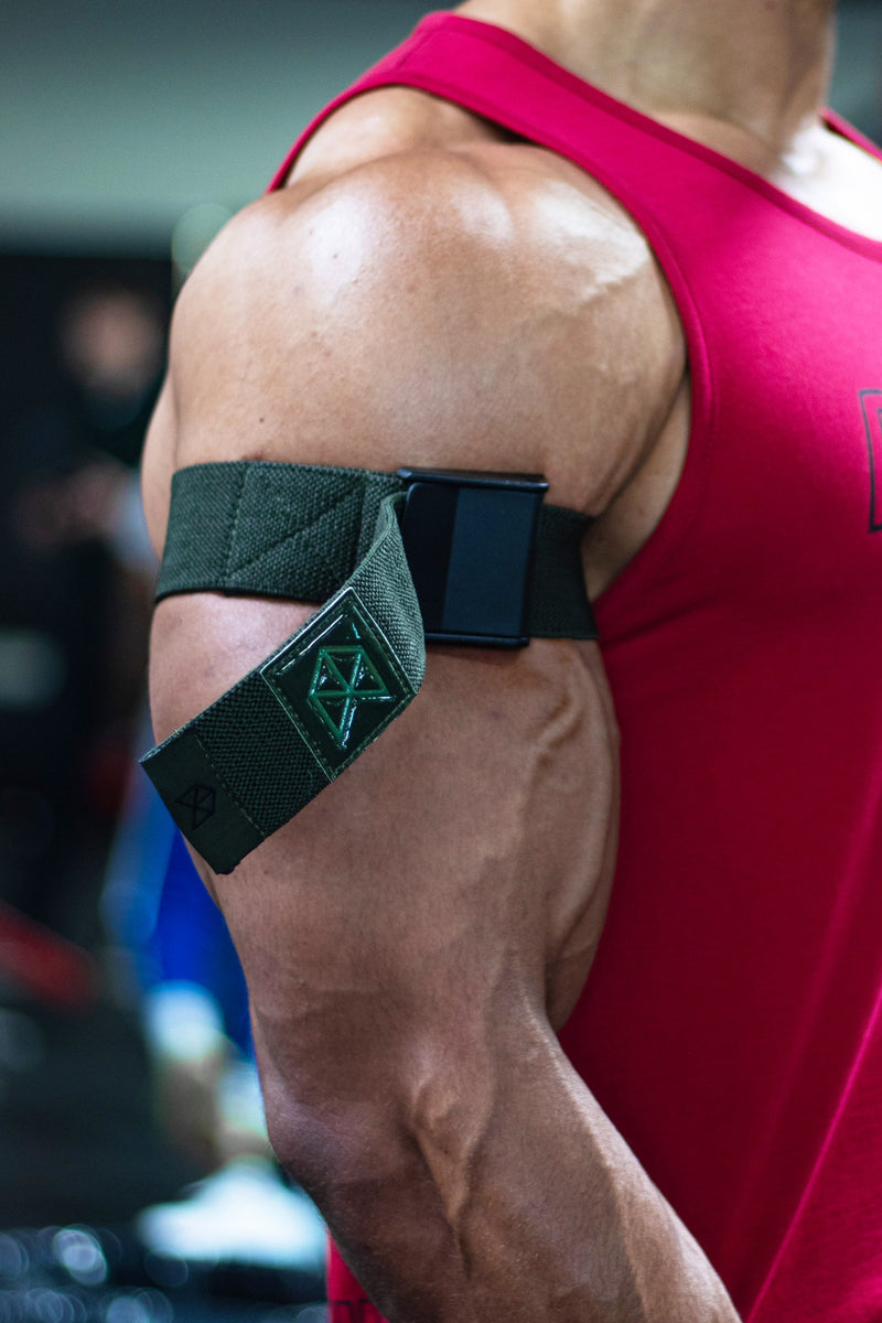 RAWGEAR Premium Olive Series - Occlusion Arm Training Wraps - BM907