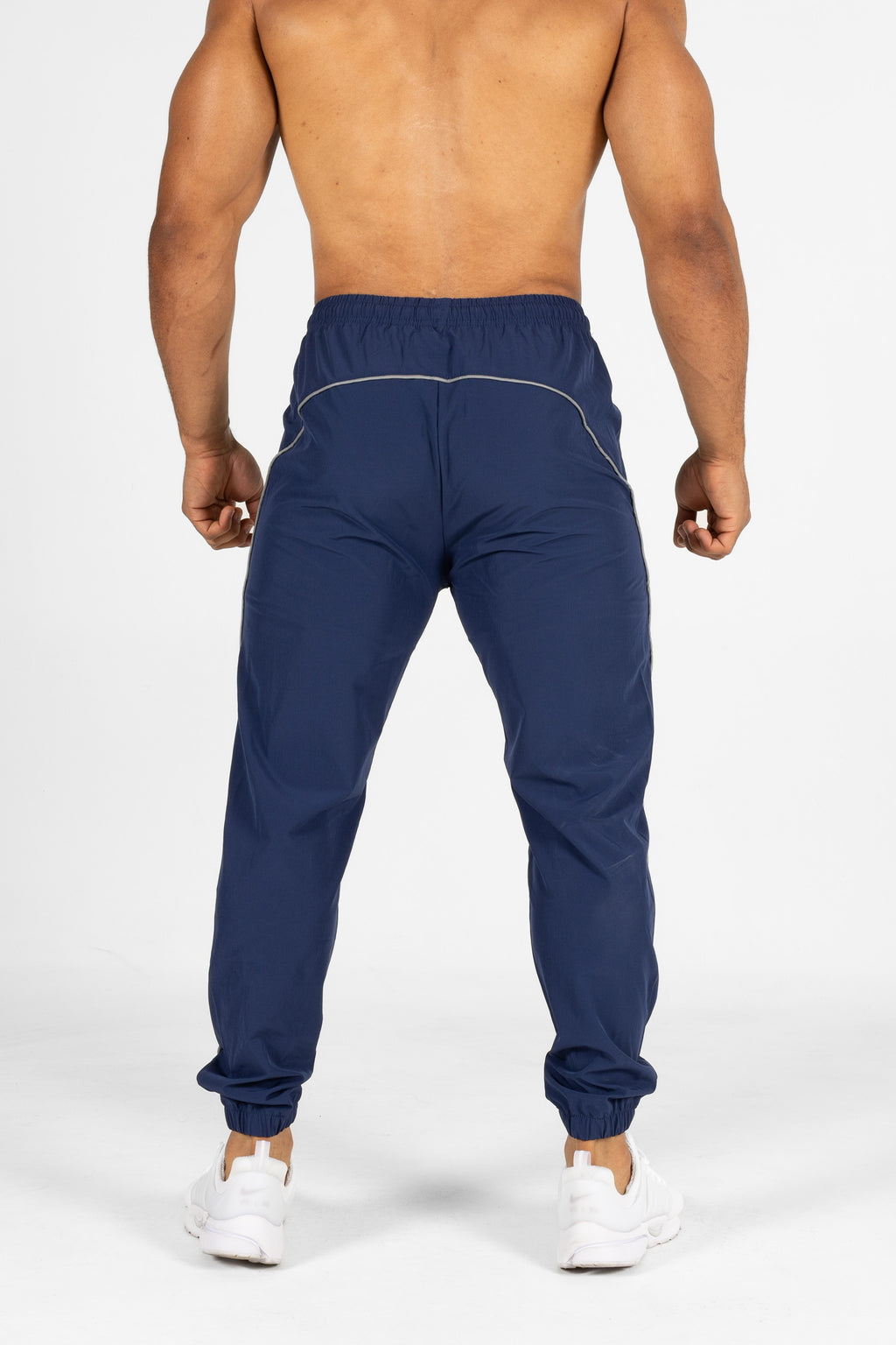BMFIT Elastane V-Panel Shirt BM406 - Black/Burgundy