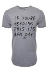 BMFIT Elongated If Youre Reading This - HEATHER GREY