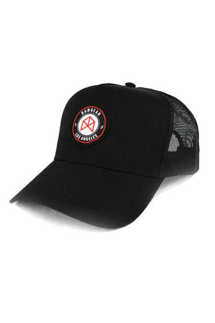 RAWGEAR Los Angeles Trucker Hat- Black