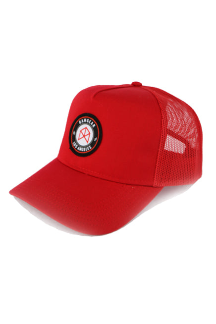RAWGEAR Los Angeles Trucker Hat- Red