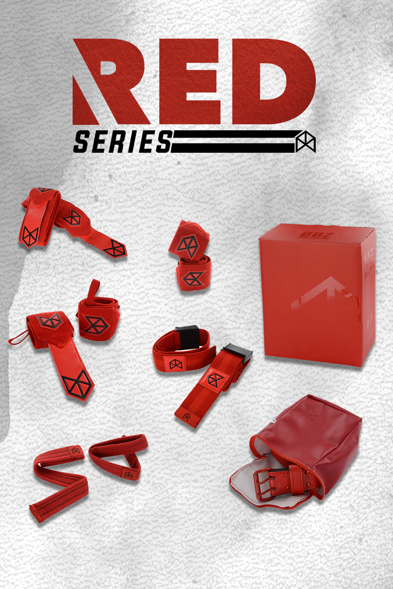 BMFIT Premium All Red Series ULTIMATE BUNDLE
