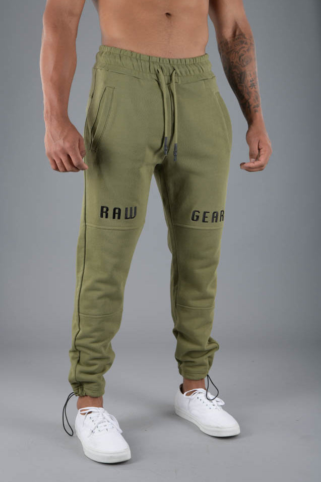 RAWGEAR Knee Embroidery Jogger - RG225