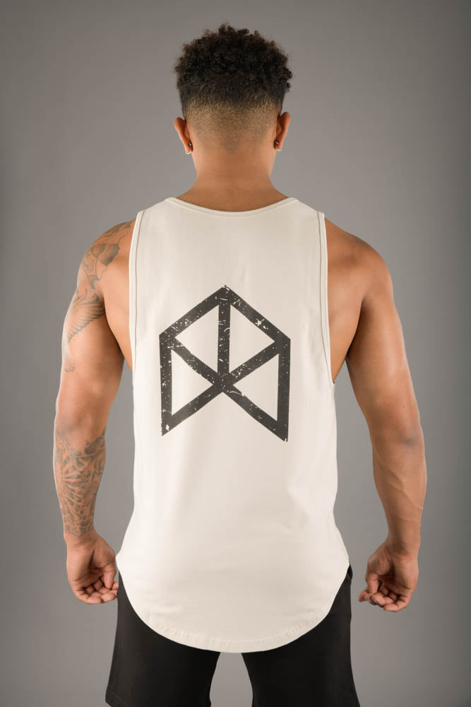 RAWGEAR Back Print Tank Top w/ Pocket - RG314