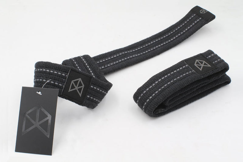 BMFIT Premium All Black Series - Heavy Duty Premium Straps