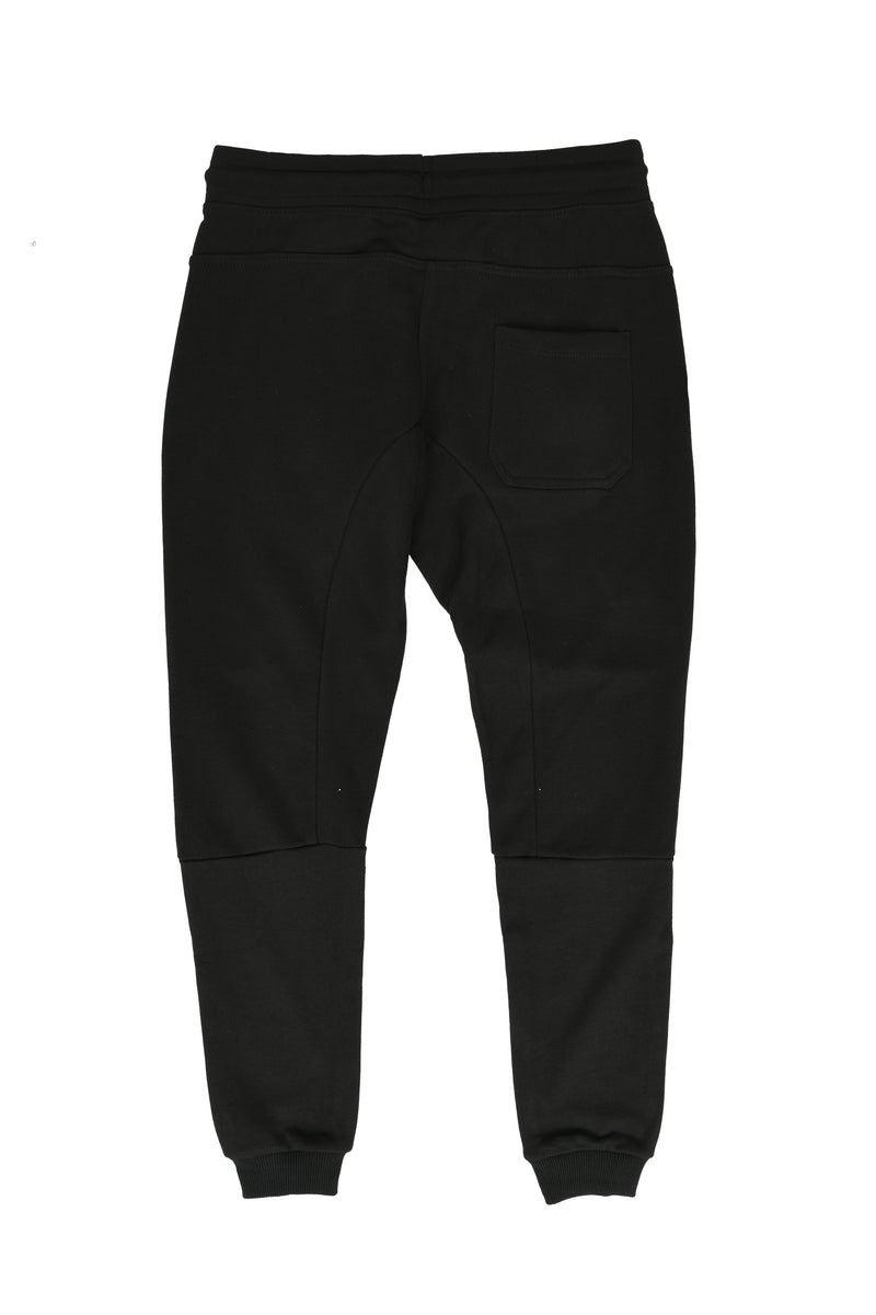 FRENCH TERRY TECH JOGGERS-BM222- Black