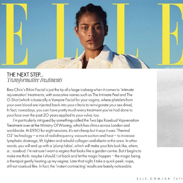 ELLE UK / July 2020