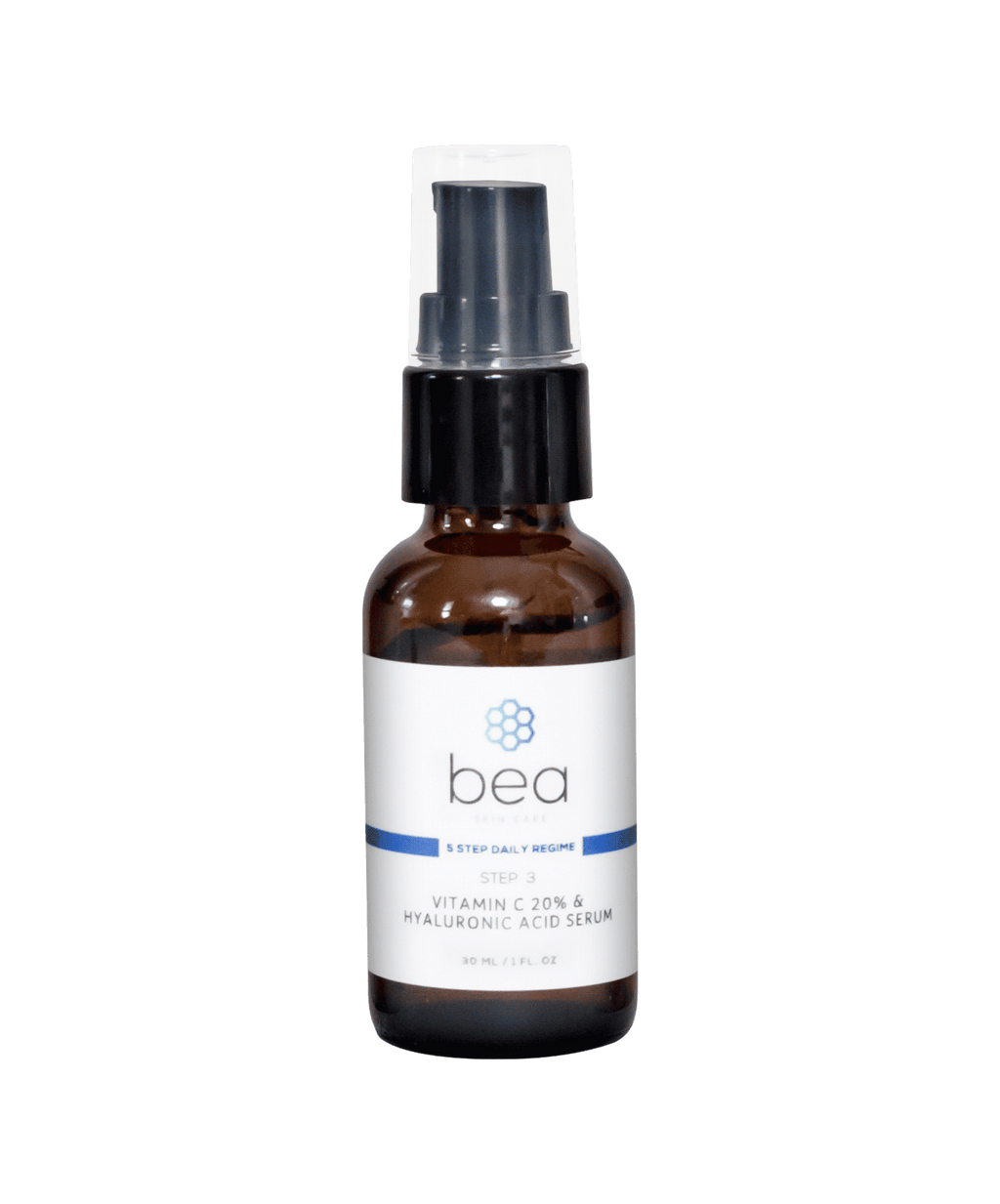 Step 3: Vitamin C 20% & Hyaluronic Acid Serum - 30 ml Face Serum bea Skin Care