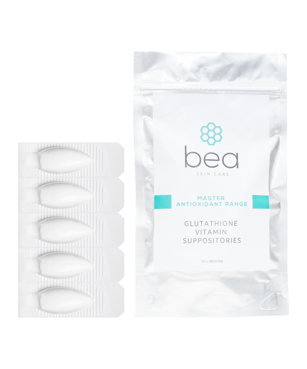 Glutathione Vitamin Suppositories - Pack of 15 Suppositories bea Skin Care