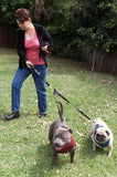 Double Dog Leash Coupler - Walk and Control 2 Dogs Easily