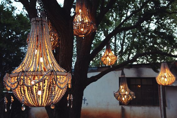 Klaylife Beaded Chandeliers