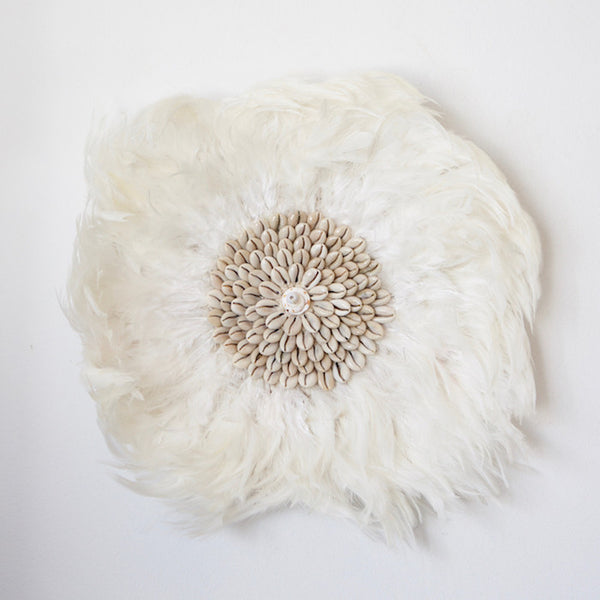 Feather Wall Hanging - Ivory