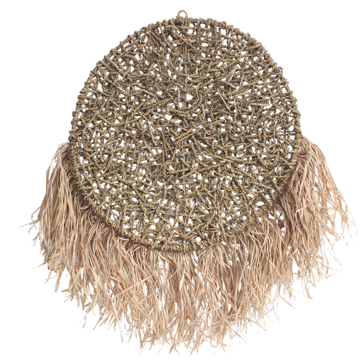 Seagrass Raffia Wall Hanging
