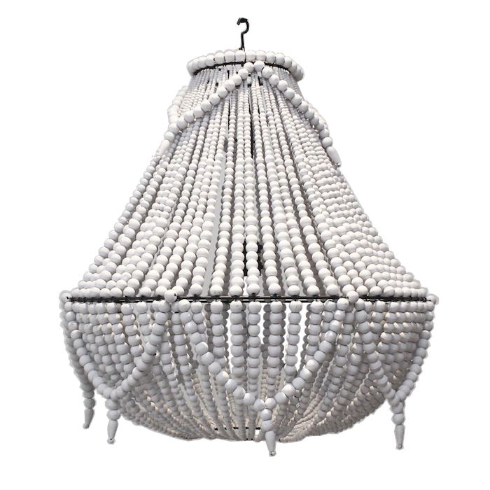 Beaded Chandelier II - Large / Extra Large