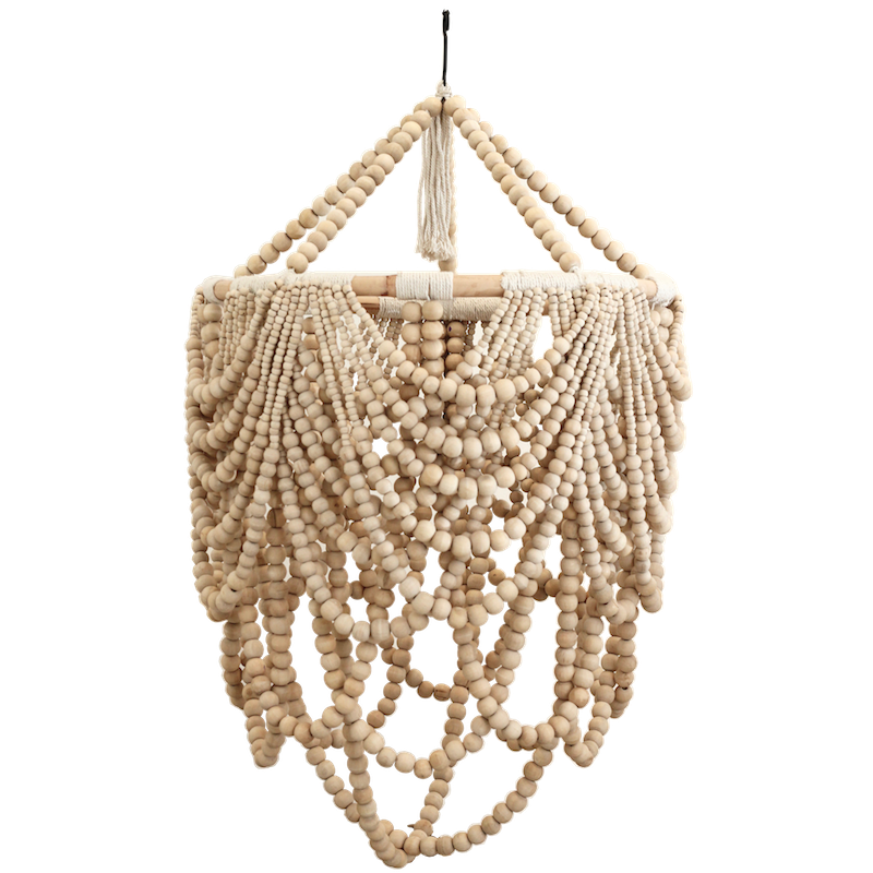 Beaded Drape Chandelier - Natural - PREORDER