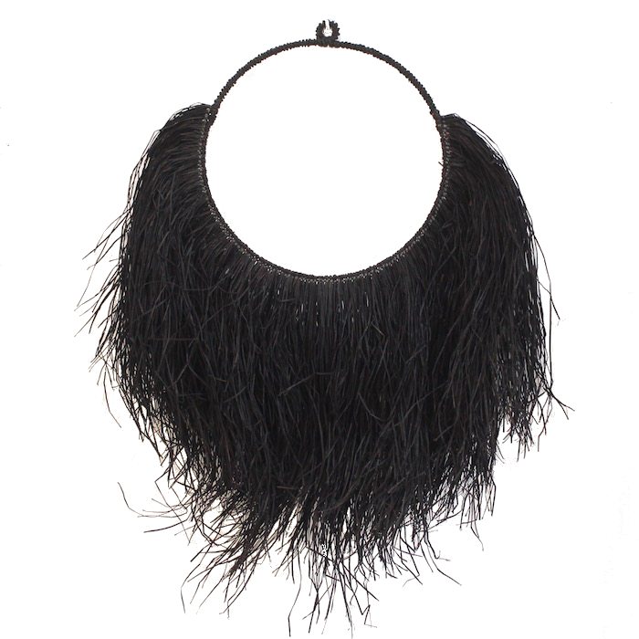 Seagrass Wall Hanging - Black