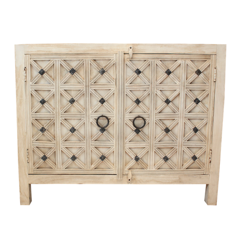 Carved Side Board Cabinet