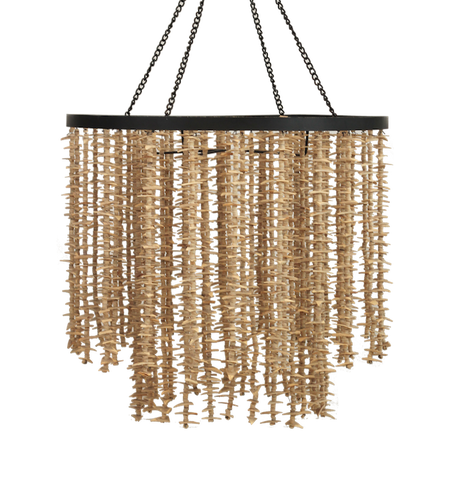 Coconut Shell Chandelier