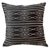 Empire Cushion - Black