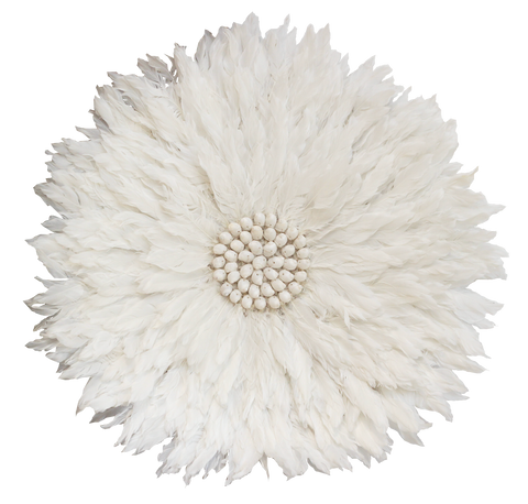 Feather Wall Hanging - White
