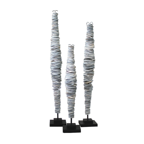 Papua Stacking Shells - Grey