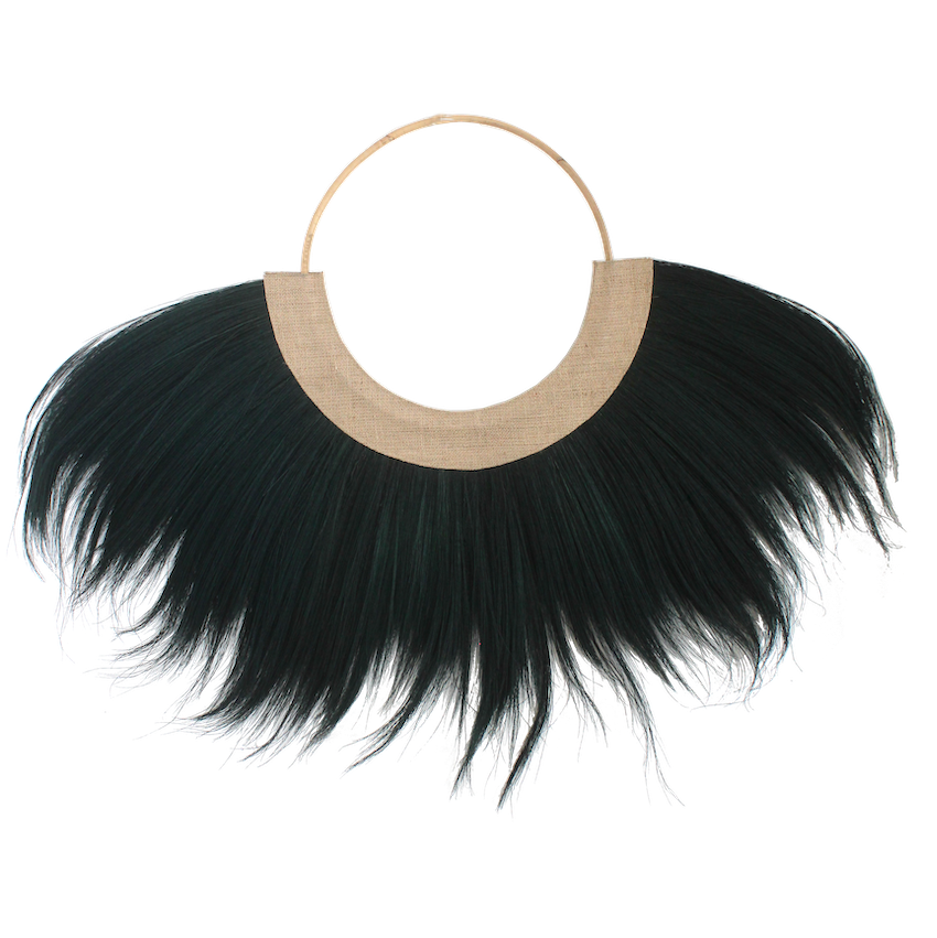 Hula Wall Hanging - Black