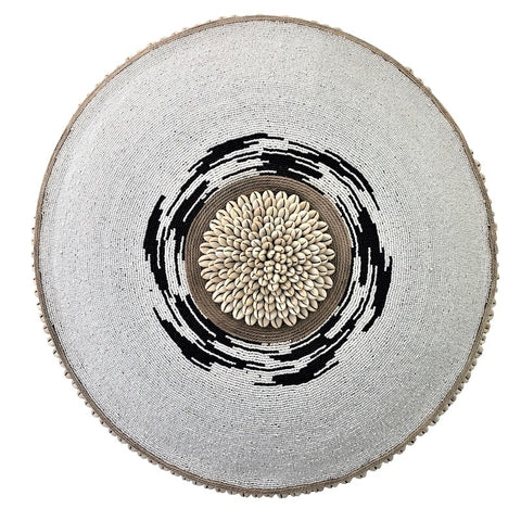 Beaded Shield Two Tone - XLarge