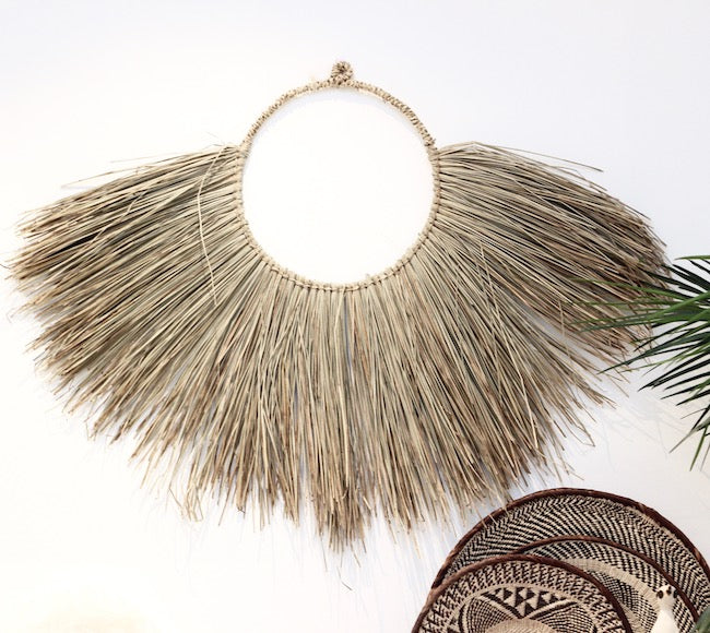 Seagrass Wall Hanging - Medium