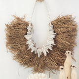 Leila Seagrass Driftwood Necklace