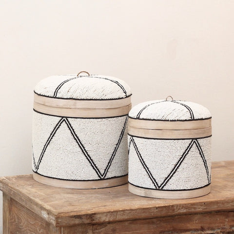 Khari Beaded Boxes