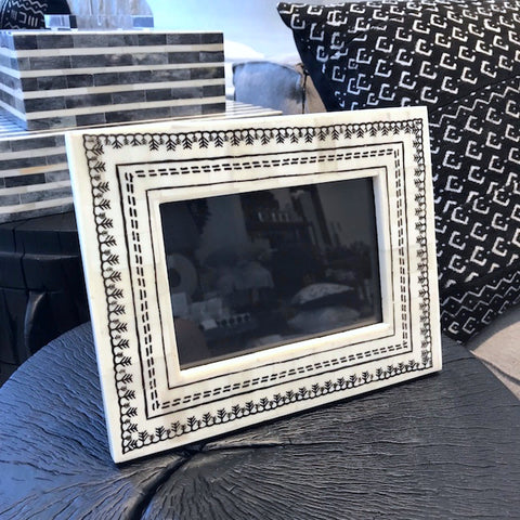 Tazim Bone Inlay Photo Frame