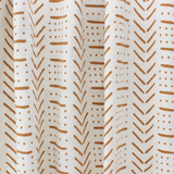 Nala Throw - White/Terracotta
