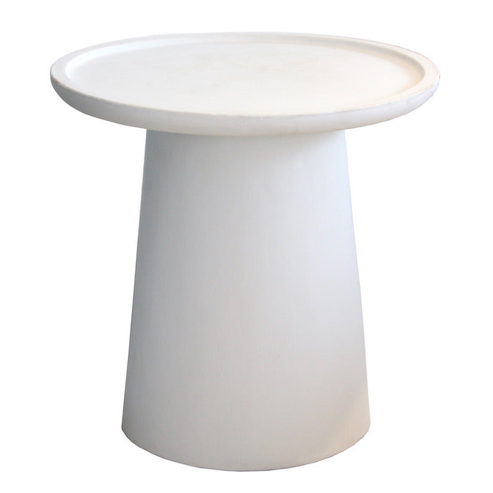 Oia Side Table - White